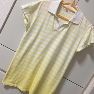 ユニクロ(UNIQLO)の【UNIQLO】ボーダー ポロシャツ(ポロシャツ)