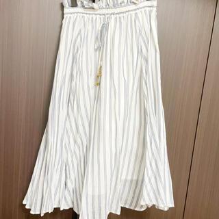 ココディール(COCO DEAL)のココディール♡エアリーストライプスカート(ひざ丈スカート)
