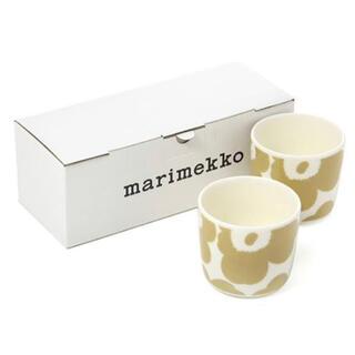 マリメッコ(marimekko)のmarimekko マリメッコ  Unikko ウニッコ  コーヒーカップセット(グラス/カップ)