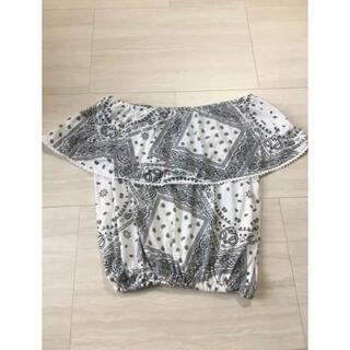 グレイル(GRL)のRaf Raf★オフショルトップス(Tシャツ(半袖/袖なし))