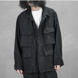 COMOLI - 新品、21SS comoli コモリ リネンB.D.Uジャケット!