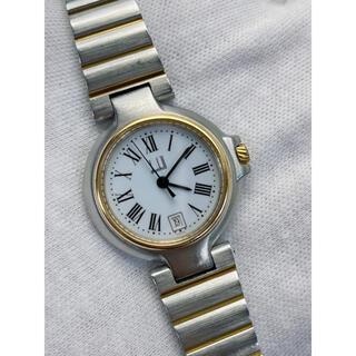 ダンヒル(Dunhill)のT370 dunhill ダンヒル 腕時計 クォーツ スイス製 稼働品(腕時計)