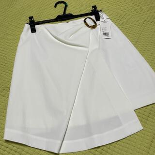 グレースコンチネンタル(GRACE CONTINENTAL)のアシメンタリー膝丈ミニスカート(ひざ丈スカート)