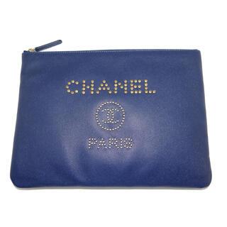 シャネル(CHANEL)のCHANE クラッチバッグ PM A80802 Y01684 N4942(セカンドバッグ/クラッチバッグ)
