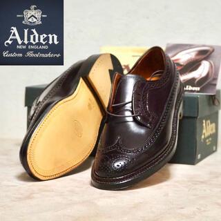 オールデン(Alden)のAlden 7.5E オールデン コードバン ロングウィング 975(ドレス/ビジネス)