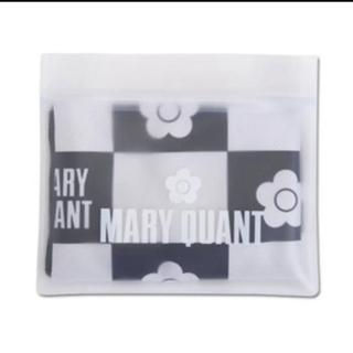 マリークワント(MARY QUANT)の【新品タグ付未開封】マリークワント💕冷感 タオル ブラック(タオル/バス用品)