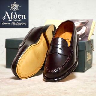 オールデン(Alden)のAlden 8.5C オールデン コードバン ペニーローファー(ドレス/ビジネス)