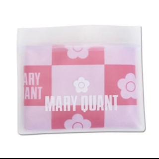マリークワント(MARY QUANT)の【新品タグ付未開封】マリークワント💕冷感 タオル ピンク(タオル/バス用品)