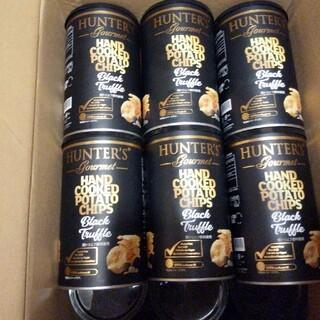 ハンター(HUNTER)の12缶 ハンター ポテトチップス 黒トリュフ風味 150g 12缶(菓子/デザート)