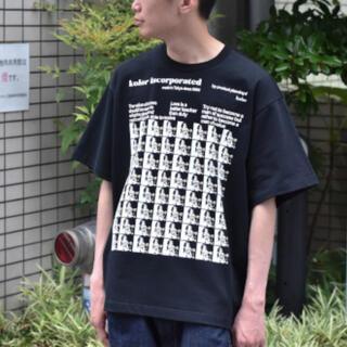 kolor - kolor 21ss アインシュタイン Tシャツ 新品 3 黒 カラー