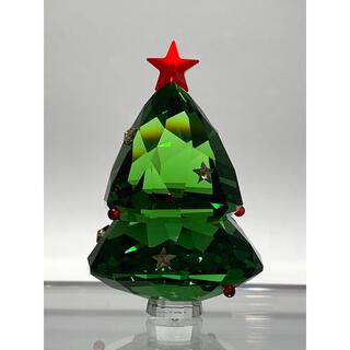 SWAROVSKI - スワロフスキー クリスマスツリー グリーン オブジェ