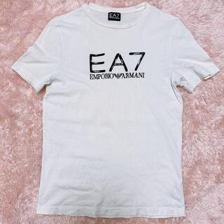 エンポリオアルマーニ(Emporio Armani)の【EMPORIO ARMANI】ロゴTシャツ(Tシャツ/カットソー(半袖/袖なし))