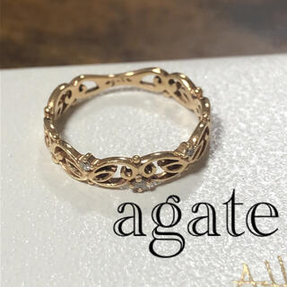 agete - agate アガット リング