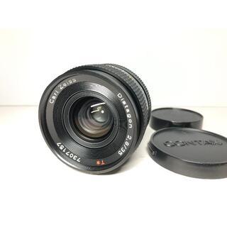 極上品CONTAX Carl Zeiss Distagon 35 2.8 AEJ(フィルムカメラ)