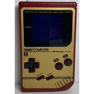 ゲームボーイ(ゲームボーイ)の初代ゲームボーイ ファミコンエディション レッド (携帯用ゲーム機本体)