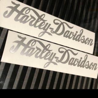 Harley Davidson - ハーレーダビッドソン  ステッカー 二枚