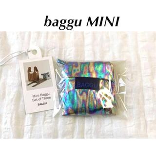 EDIT.FOR LULU - 【新品未使用】BAGGU MINI メタリックレインボー