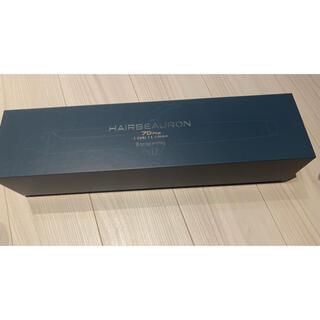 リュミエールブラン(Lumiere Blanc)のヘアビューロン7D plus ストレートアイロンの箱(ヘアアイロン)