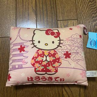 サンリオ(サンリオ)のキティ クッション ピンク 着物 サンリオ キティちゃん 和装(クッション)