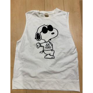 アクアガール(aquagirl)のアクアガール スヌーピー  ノースリーブTシャツ(Tシャツ(半袖/袖なし))