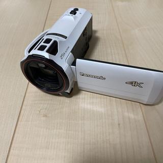 Panasonic - 4Kビデオカメラ パナソニック 中古 三脚付き
