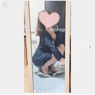 アオヤマ(青山)の青山♥n♡line♡by nozomi♥ネイビー♡ストライプ背抜き♡内ポケ付き(スーツ)