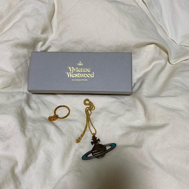 Vivienne Westwood(ヴィヴィアンウエストウッド)のvivienne westwood ヴィヴィアンウエストウッド ネックレス メンズのアクセサリー(ネックレス)の商品写真