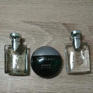 ブルガリ(BVLGARI)のブルガリ プールオム オードトワレ 3種類(5ml_0.17fl.oz(香水(男性用))
