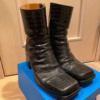 JOHN LAWRENCE SULLIVAN - john lawrence sullivan 19aw heel boots