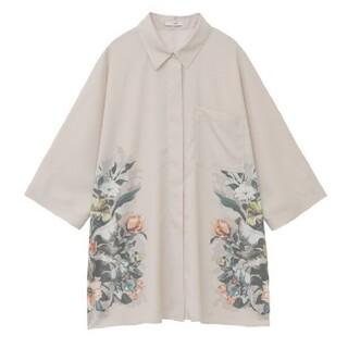 Ameri VINTAGE - 【新品】 CLANE パネルフラワーシャツ