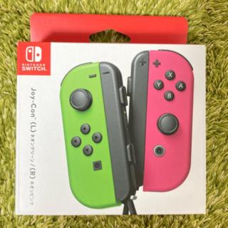 ニンテンドースイッチ(Nintendo Switch)の任天堂 Joy-Con (L)/(R) ネオングリーン/ネオンピンク (その他)