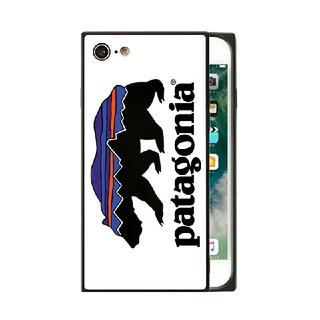 パタゴニア(patagonia)のスクエア ガラスケース iPhoneケース パタゴニア q3wb2q(iPhoneケース)