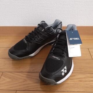 YONEX - YONEX パワークッション チーム AC 27cm ブラック 黒 新品 未使用