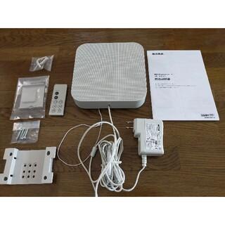 ムジルシリョウヒン(MUJI (無印良品))の無印良品 壁掛式 Bluetooth スピーカー MJBTS-1  2017年製(スピーカー)