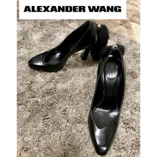 アレキサンダーワン(Alexander Wang)のALEXANDER WANG アレキサンダーワン ファーチャームヒールパンプス (ハイヒール/パンプス)