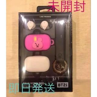 ボウダンショウネンダン(防弾少年団(BTS))のBTS/BT21 公式  Bluetooth ワイヤレス イヤホン COOKY(ヘッドフォン/イヤフォン)
