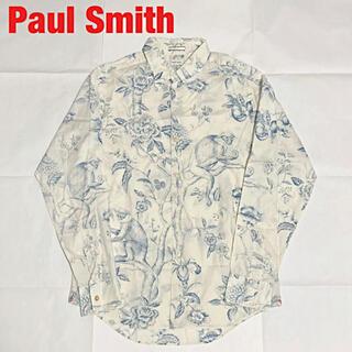 Paul Smith - 【人気】Paul Smith ポールスミス 総柄シャツ アニマル柄 花柄 個性的