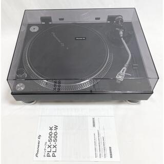 パイオニア(Pioneer)の☆良品 パイオニア DJダイレクトドライブ ターンテーブル PLX-500-K(ターンテーブル)