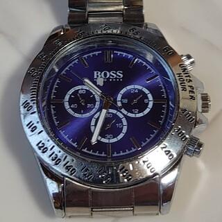 ヒューゴボス(HUGO BOSS)の腕時計 腕時計メンズ クロノグラフ(腕時計(アナログ))