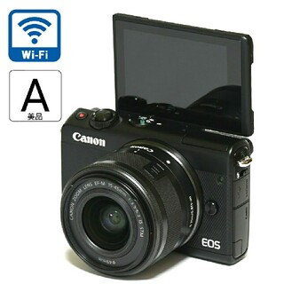 Canon - 【Canon】美品★Wi-Fi機能搭載☆自撮り!EOS M100レンズキット