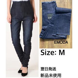 EMODA - 新品未使用 EMODAエモダ★ハイウエスト ジーンズ デニムパンツ M 翌日発送
