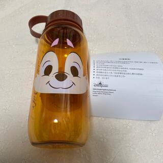 チップアンドデール(チップ&デール)の香港ディズニー チップとデール プラスチックボトル 400ml(キャラクターグッズ)