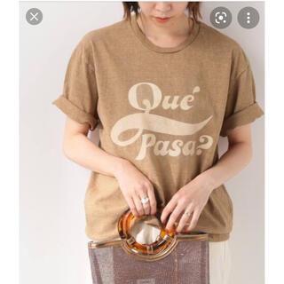 イエナスローブ(IENA SLOBE)の【MIXTA】SLOBE別注 QUEPASA Tシャツ(Tシャツ(半袖/袖なし))