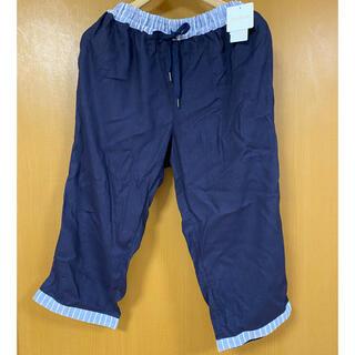キッドブルー(KID BLUE)の新品、未使用!キッドブルー コットン7分丈パンツ!(ルームウェア)