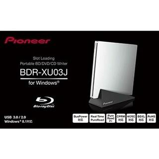 パイオニア(Pioneer)のPioneer BDR-XU03J  ポータブルブルーレイドライブ(PC周辺機器)