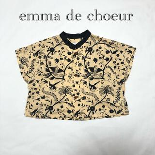 emma de choeur シャツ ブラウス 100 エマドゥクー