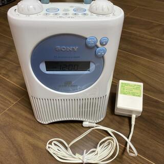 ソニー(SONY)のSONY CDラジオ 防滴仕様 ICF-CD74(ポータブルプレーヤー)