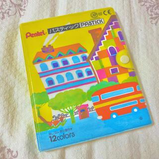 ペンテル(ぺんてる)のぺんてる パスティック クーピー 12色(クレヨン/パステル)
