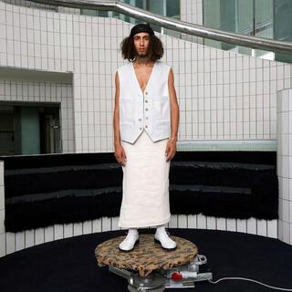 JOHN LAWRENCE SULLIVAN - Magliano 21ss レザーベスト ritual leather vest