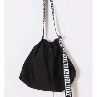 ホリデイ(holiday)のtinytiny_xoxo様専用 HOLIDAY PACKABLE BAG (ショルダーバッグ)
